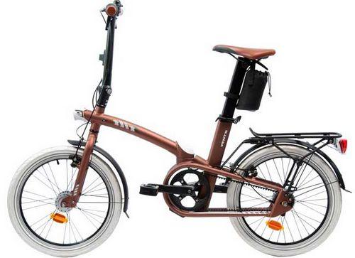 Складной велосипед decathlon b'twin tilt 9 2013 года с планетарной втулкой shimano nexus 7