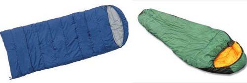 Спальный мешок для велопохода