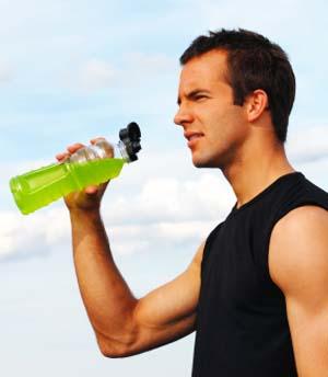 Спортивные энергетические напитки для спортсменов