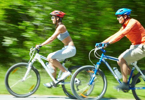 Старт и остановка на велосипеде
