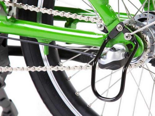 Стопорная система и регулировка цепи на велосипедах с планетарной втулкой