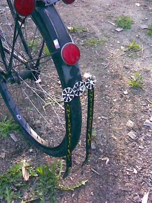 Сварные швы велосипедных рам