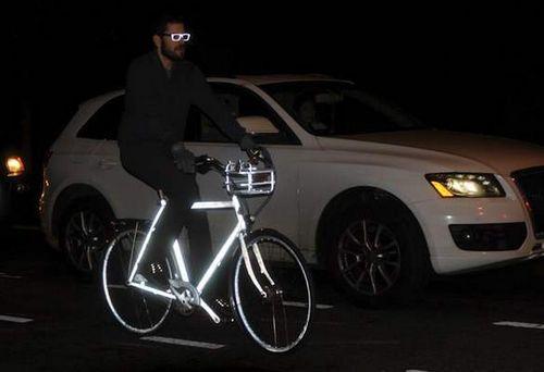 Светоотражающий велосипед — хочу!!