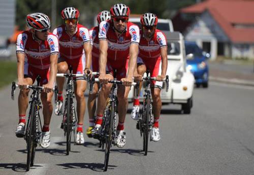 Тактика командной велогонки