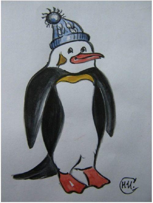 Талисманом чемпионата мира по зимнему плаванию в тюмени стал пингвин из сызрани