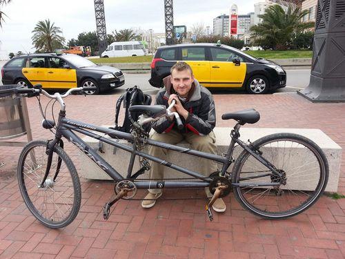 Тандем — велосипед для семейных людей
