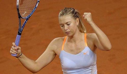 Теннис. шарапова довольна своей игрой на турнире в штутгарте