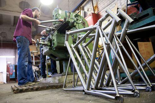 Титановые рамы triton bikes - сделано в россии