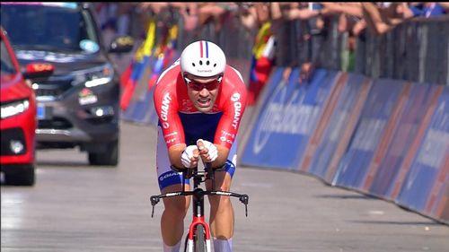 Том дюмулен выиграл четырнадцатый этап джиро д'италия 2017'италия 2017 'италия 2017
