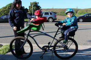 Топ-5 детских кресел для велосипедов