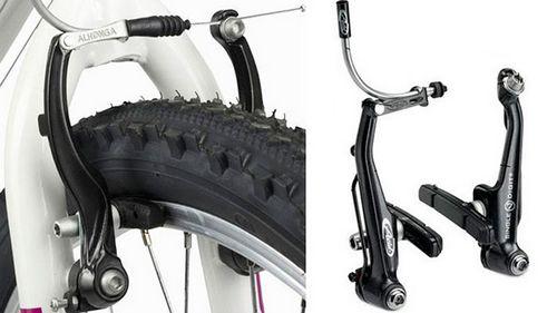 Тормозные колодки для велосипеда: типы, предназначение, установка