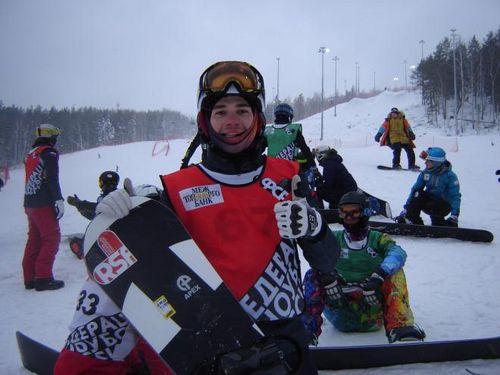 Трассу для этапа кубка мира по сноуборду в миассе освоили юниоры