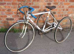 Трехколесный взрослый велосипед