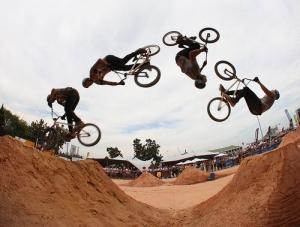 Трюки на велосипеде