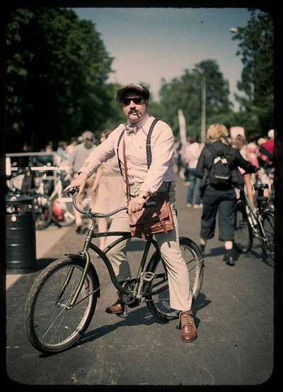 Tweed ride, беседа о классических велосипедах с русланом сафиным