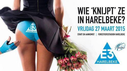 Uci «забанил» рекламный постер гонки e3 harelbeke