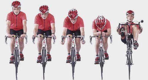 Улучшение аэродинамики на велосипеде
