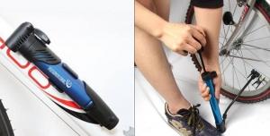 Устройство велосипедного насоса