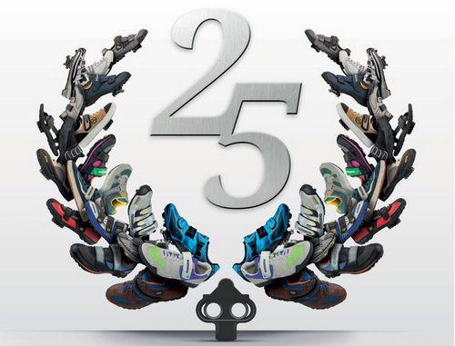 В честь 25-летия стандарта spd shimano выпустили новые педали и обувь