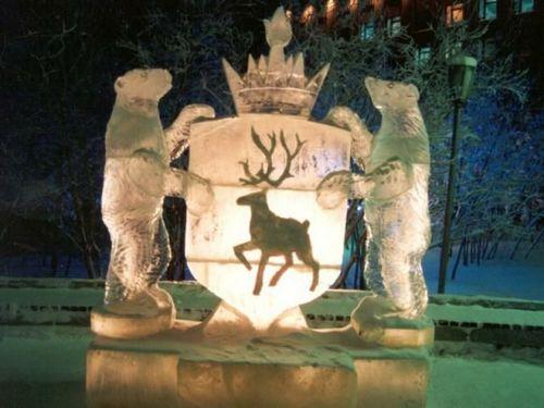 В честь сочинской олимпиады в салехарде открылся зимний вернисаж