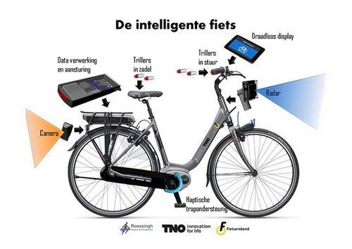 В голландии изобрели умный велосипед