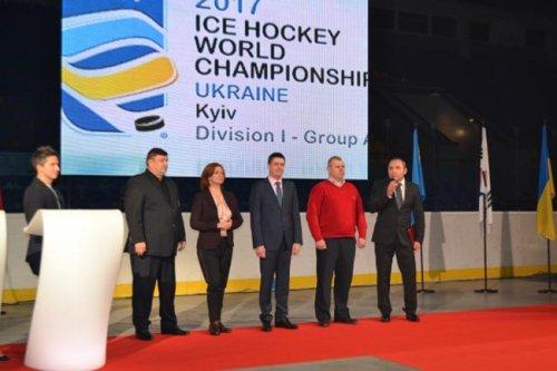 В киеве презентовали чемпионат мира по хоккею-2017 в дивизионе іа - «хоккей»