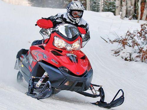 В солнечной долине состоятся гонки на снегоходах
