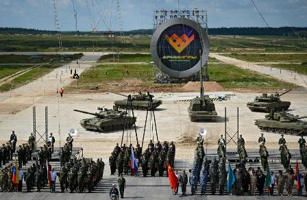 Валабино стартуют армейские международные игры— 2017 - «спорт»