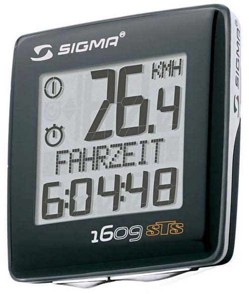Велокомпьютер sigma sport bc 1609 sts