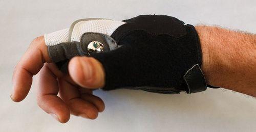 Велоперчатки с поворотниками