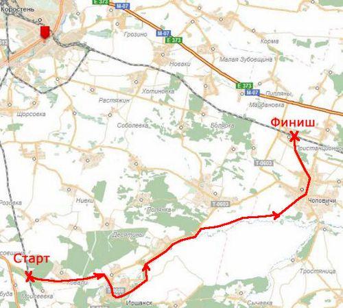 Велопоездка по маршруту коростень — иршанск — кипячее – коростень