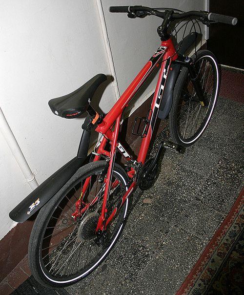 Велосипед из ковра