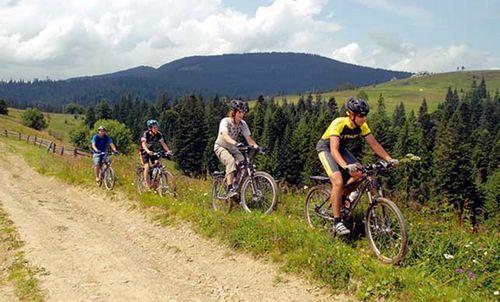 Велосипед, карпаты, отдых