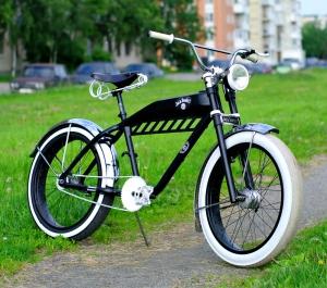 Велосипед кастом своими руками