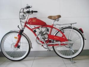 Велосипед на бензине