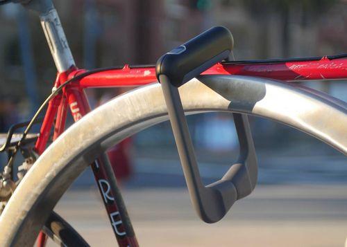 Велосипедный замок со сканером отпечатка пальца