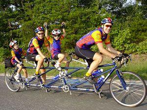 Велосипеды для двоих (тандемы)