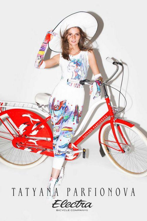 Велосипеды electra от татьяны парфеновой