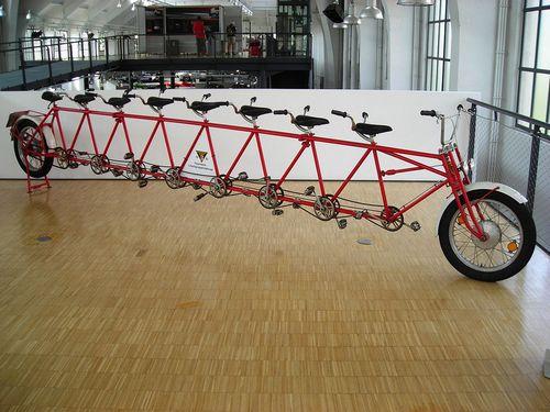 Велосипеды тандем
