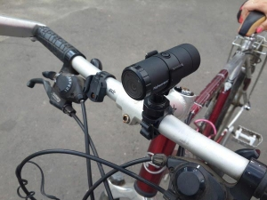 Видеорегистратор для велосипеда