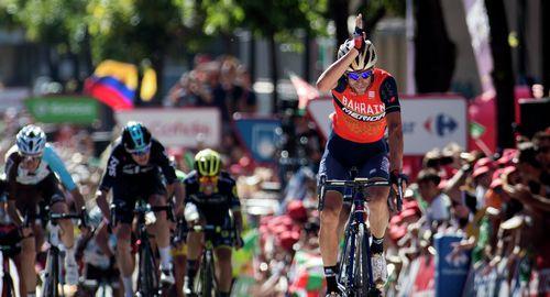 Винченцо нибали стал победителем третьего этапа вуэльты испании 2017