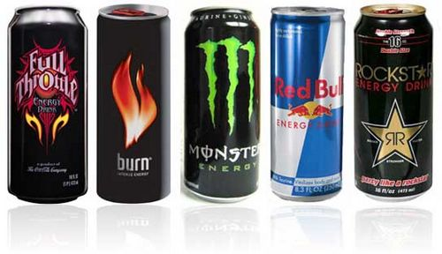 Влияние на организм энергетических напитков