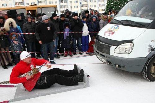 Впервые в надыме сильнейшие люди мира поборются за титул iceman arctic strongman