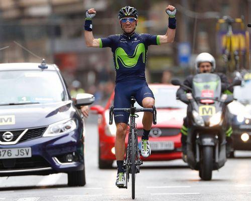 Вуэльта андалусии 2017: алехандро вальверде выиграл первый этап