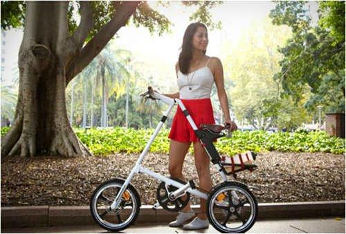 Выбираем складной велосипед