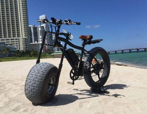 Xterrain500 - электрический фэт-байк на колесах 10-ти дюймовой ширины