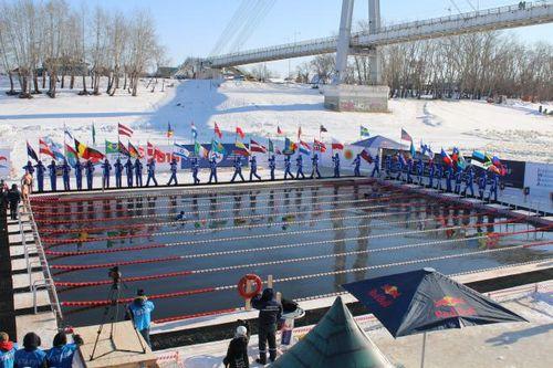 За чемпионатом мира по зимнему плаванию в тюмени следили жители 30 стран
