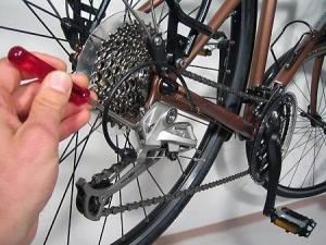 Задняя звездочка велосипеда