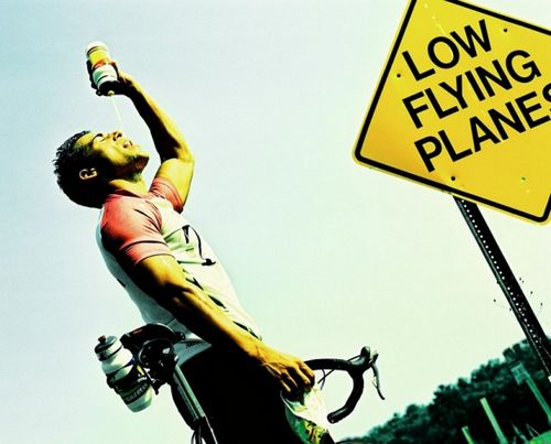 Жара + велосипед = большая опасность