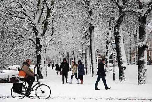 Зимний велотуризм